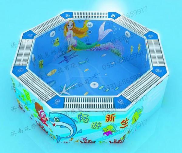 可拆移式游泳池