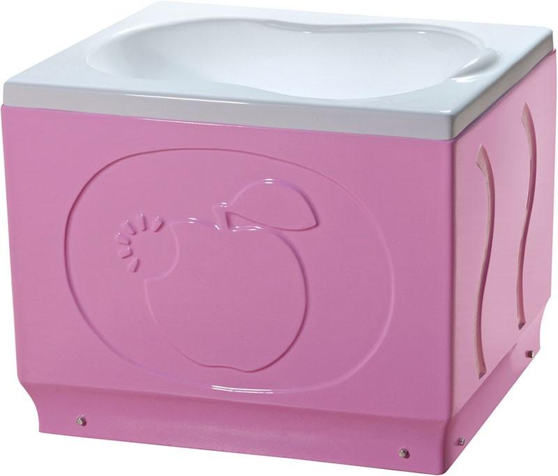 儿童澡盆粉色