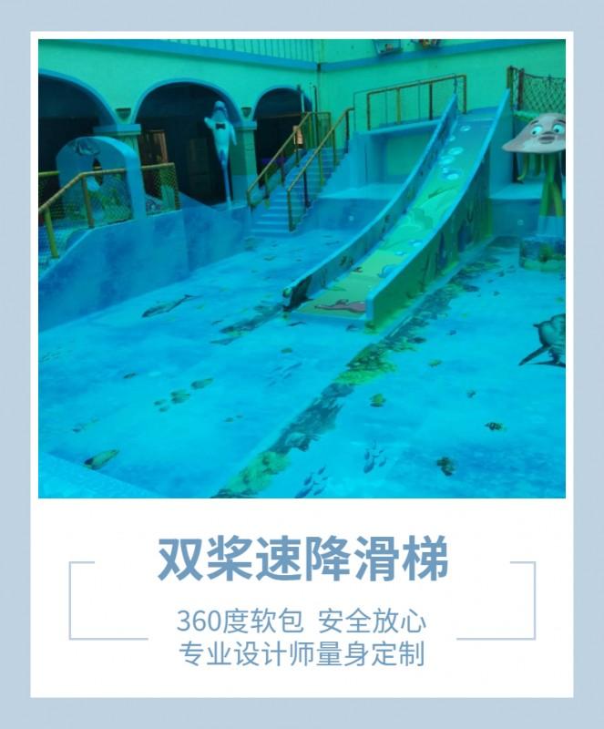 水上乐园速降滑梯
