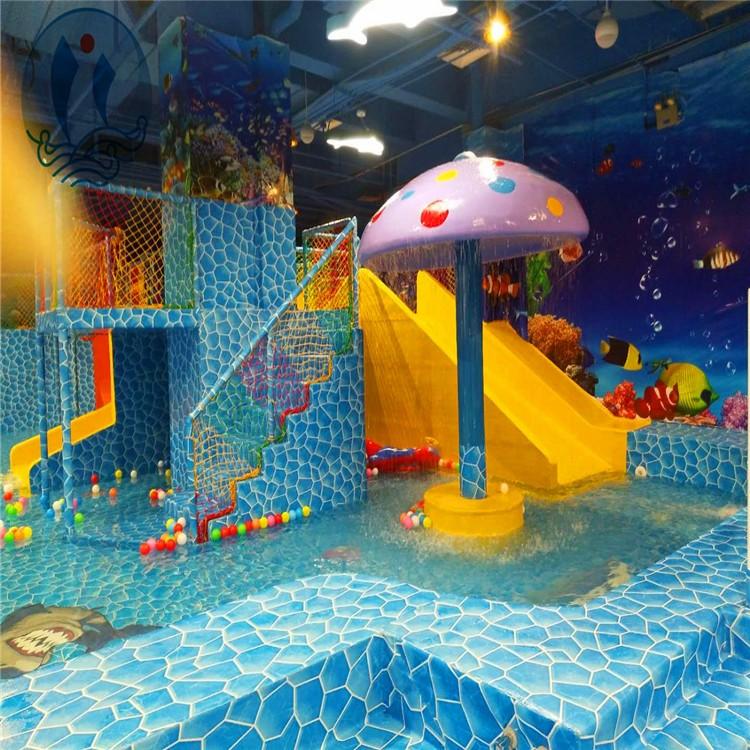 室内儿童恒温水上乐园案例大合集