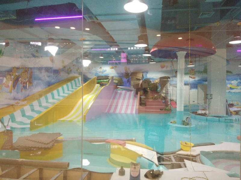 云南昭通室内儿童水上乐园设备案例